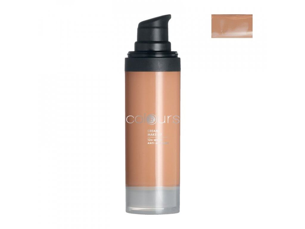 4712 lr colours kremovy make up medium caramel 30 ml