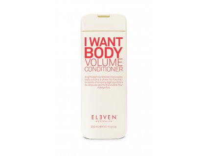 i want body volume conditioner 300ml DS