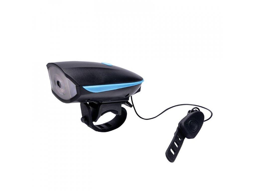 Solight LED nabíjecí cyklo světlo, 250lm, klakson, Li-ion