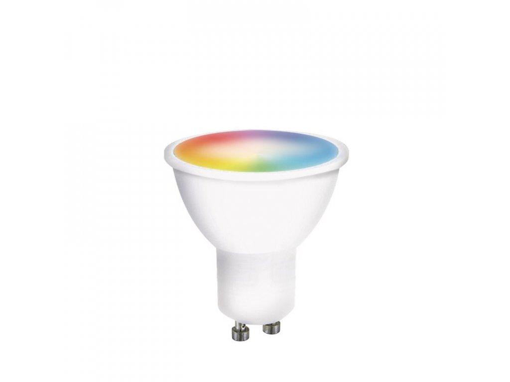 Solight LED SMART WIFI žárovka, GU10, 5W, RGB, 400lm