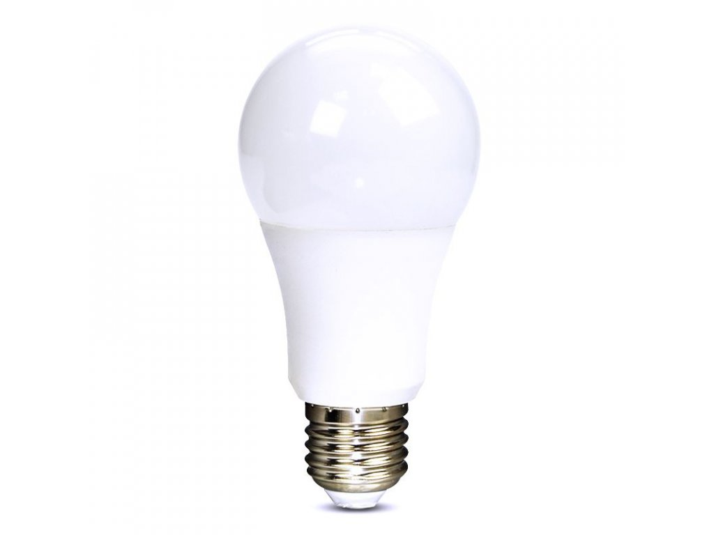 Solight LED žárovka, klasický tvar, 10W, E27, 6000K, 270°, 810lm