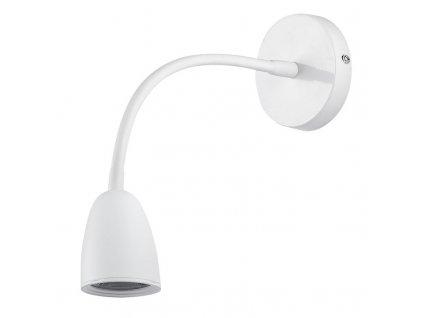 Solight LED nástěnná lampička, stmívatelná, 4W, 280lm, 3000K, bílá