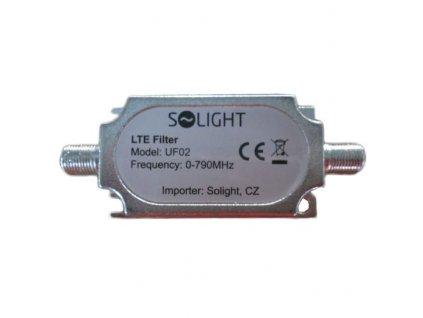 Solight pásmový LTE filtr, rozsah 0-790MHz, max. 60. kanál DvB-T