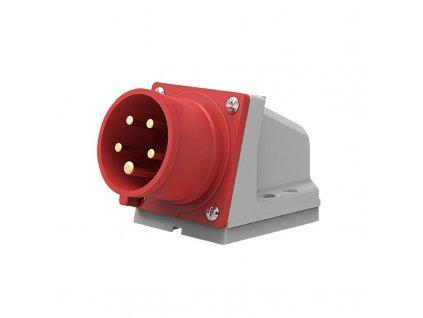 Solight přívodka nástěnná, 5-pólová, 400v/16A, IP44