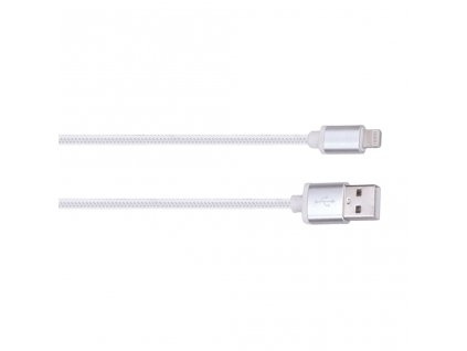 Solight Lightning kabel, USB 2.0 A konektor - Lightning konektor, blistr, 2m