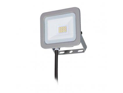 Solight LED reflektor Home, 10W, 750lm, 4000K, IP65, šedý