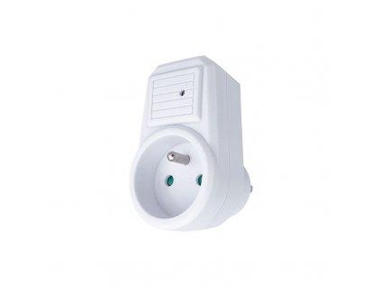 Solight přepěťová ochrana do zásuvky, 236J, 1 zásuvka, kontrolka