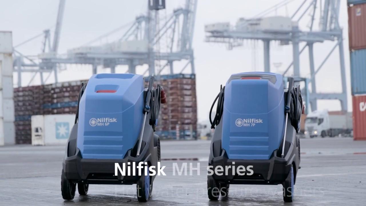 Horkovodní stroje Nilfisk
