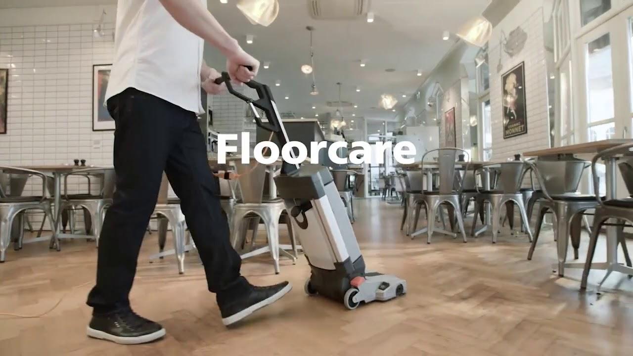 Stroje pro kvalitní mytí podlah