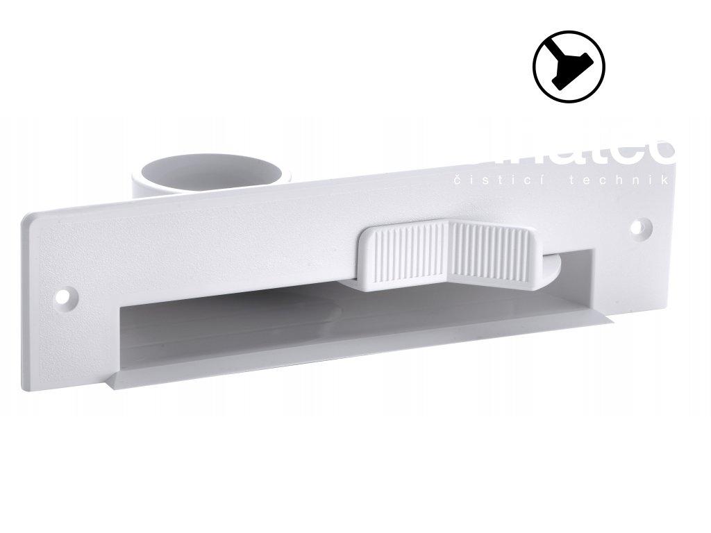 Štěrbinová zásuvka - bílá (Vacpan)