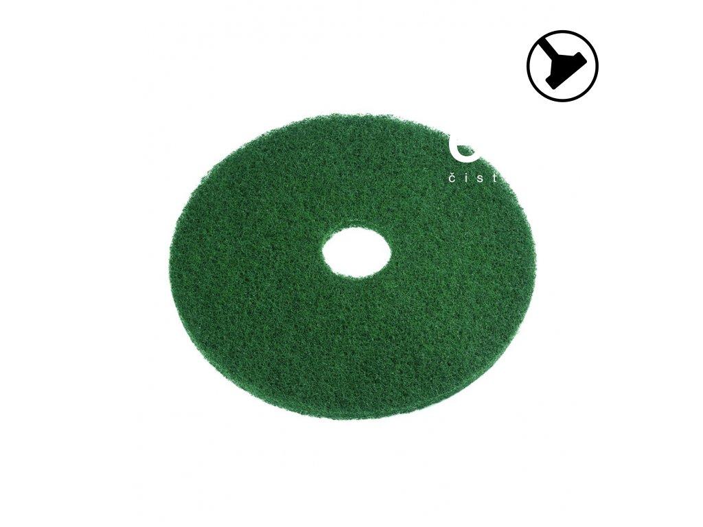"""Podlahový pad SUPER zelený od 12"""" do 21"""""""