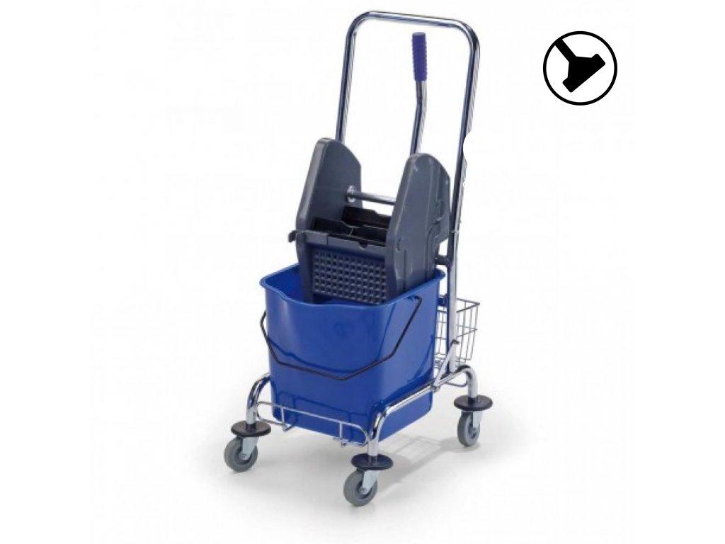 uklidovy vozik bob 220 1 x 23 litru vcetne zdimace a kosiku1559631065L