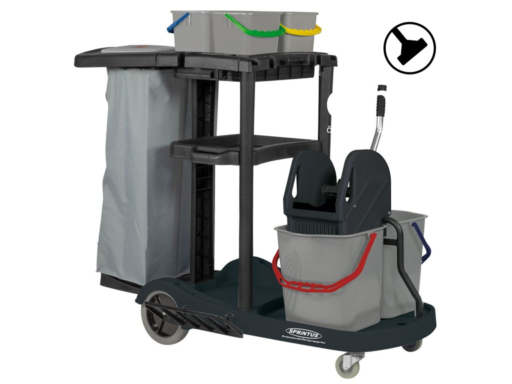 Úklidový Servisní vozík