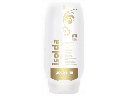 0001826 Isolda hair body gold 500ml