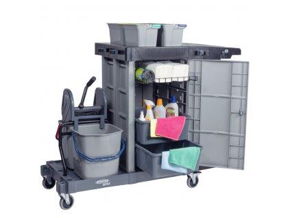Úklidový servisní vozík MatriX