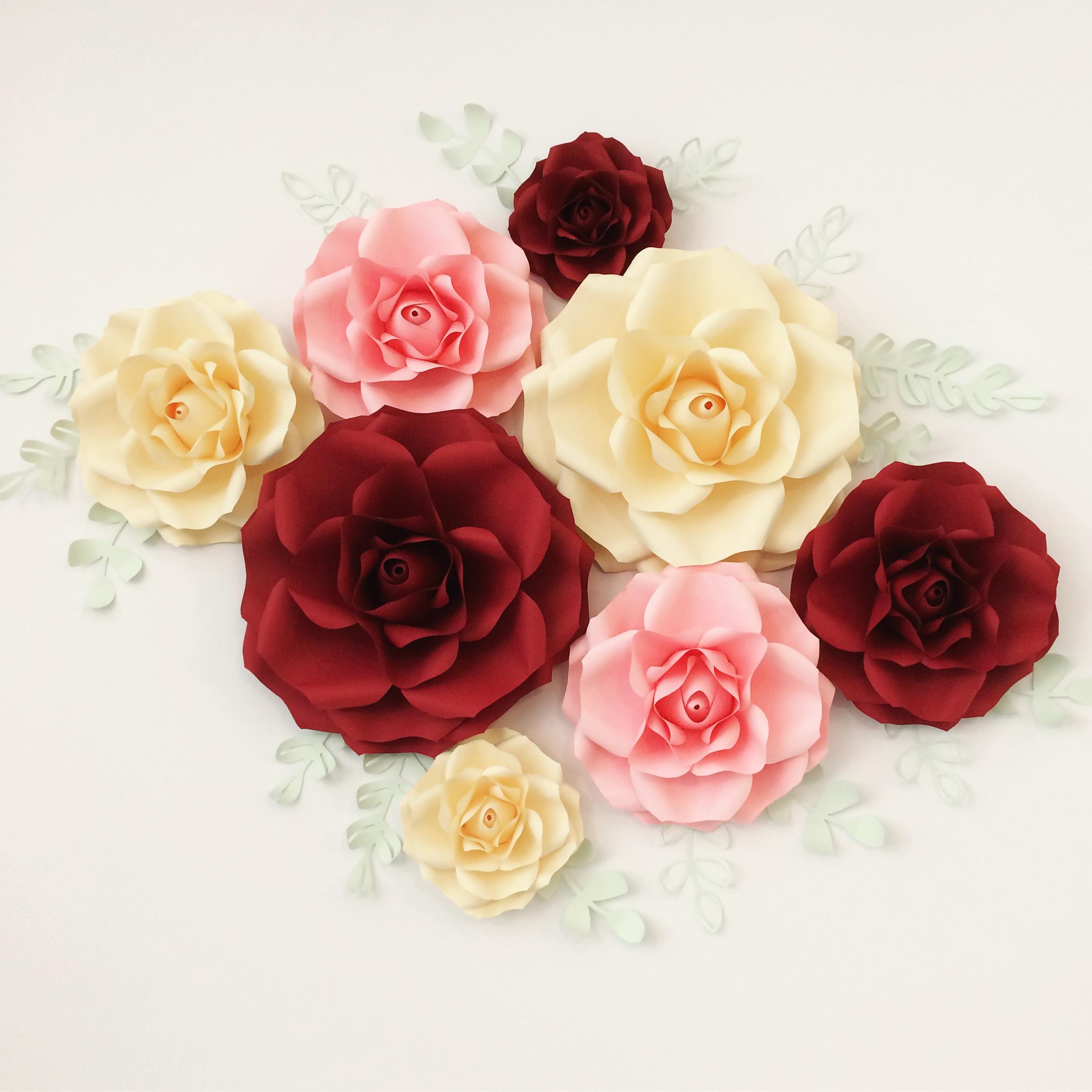 Výhody papírových květin