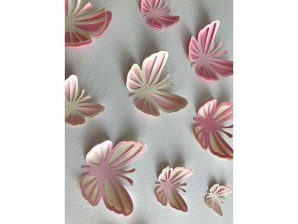 motylci ruzovi