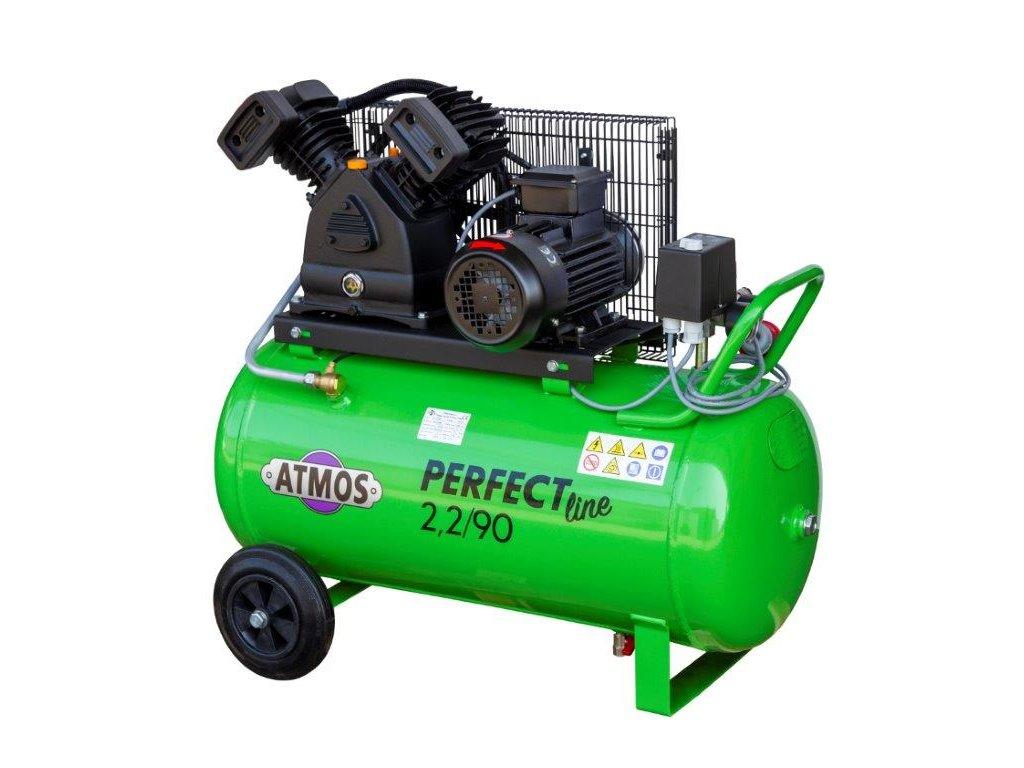 Atmos pístový kompresor Perfect Line 2.2/90