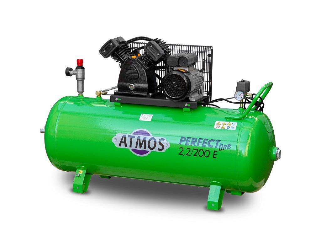 Atmos pístový kompresor Perfect Line 2.2/200 E