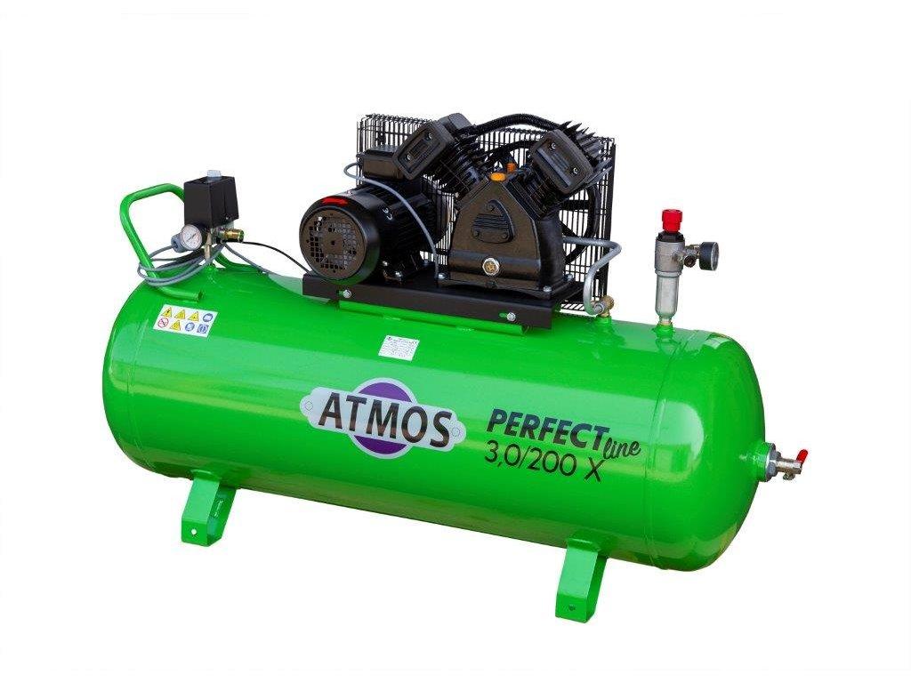 Atmos pístový kompresor Perfect Line 3.0/200 X