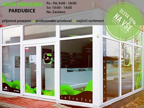 Nová prodejna Pardubice