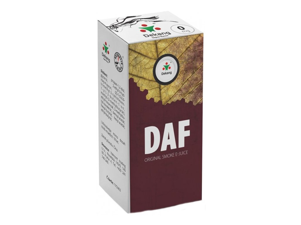e-liquid Dekang DAF, 10ml - 0mg nikotinu/ml