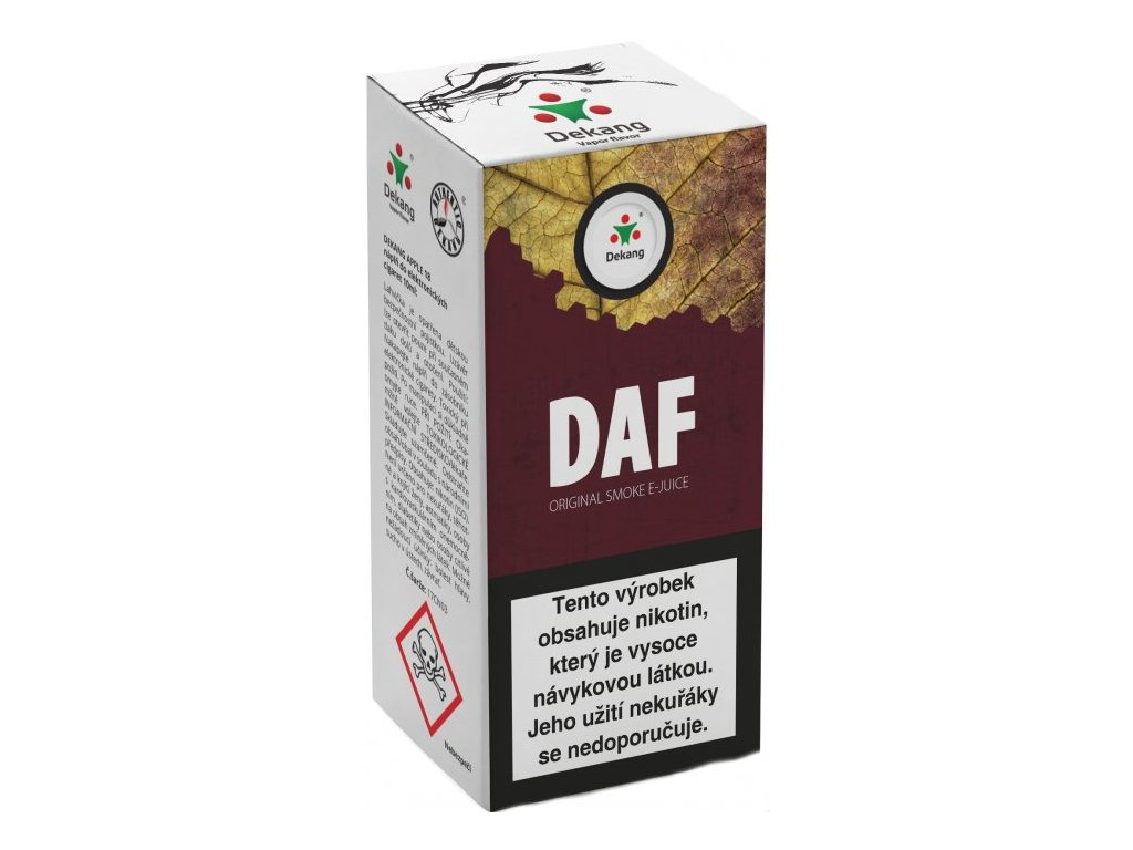 e-liquid Dekang DAF, 10ml - 18mg nikotinu/ml