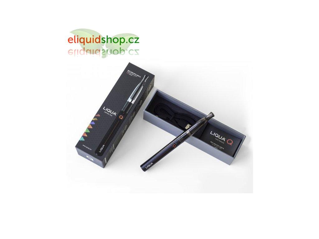 LIQUA Q - Vaping Pen - 900mAh, Černá, 1 ks