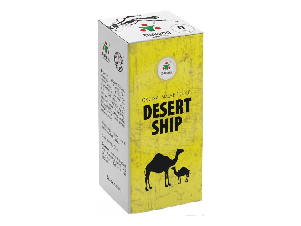 e-liquid Dekang DESERT SHIP, 10ml - 0mg nikotinu/ml