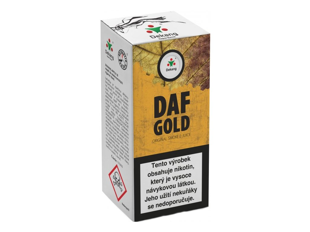 e-liquid Dekang DAF GOLD, 10ml - 16mg nikotinu/ml