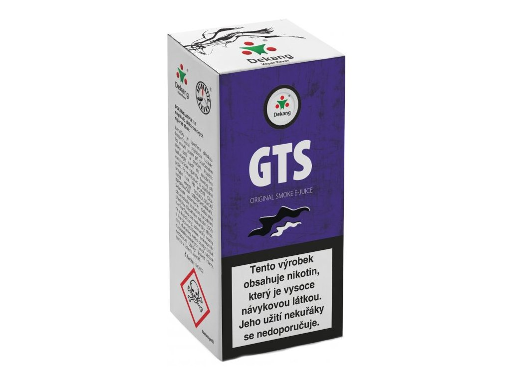e-liquid Dekang GTS, 10ml - 11mg nikotinu/ml