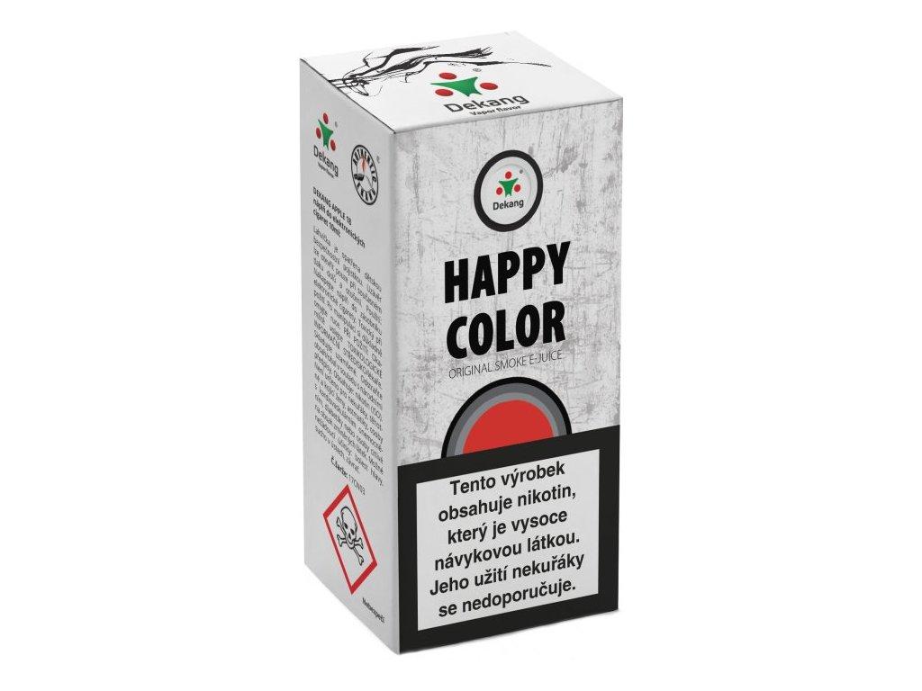 e-liquid Dekang HAPPY COLOR, 10ml - 18mg nikotinu/ml
