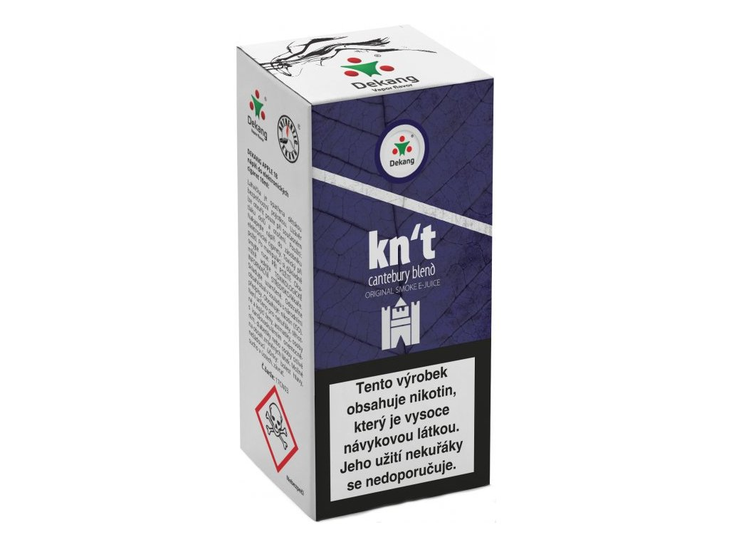 e-liquid Dekang KN´T-CANTEBURY BLEND, 10ml - 18mg nikotinu/ml