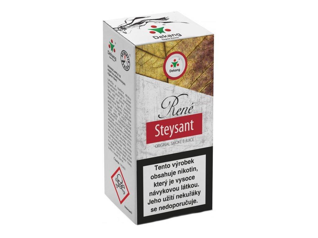 e-liquid Dekang RENÉ STEYSANT, 10ml - 6mg nikotinu/ml