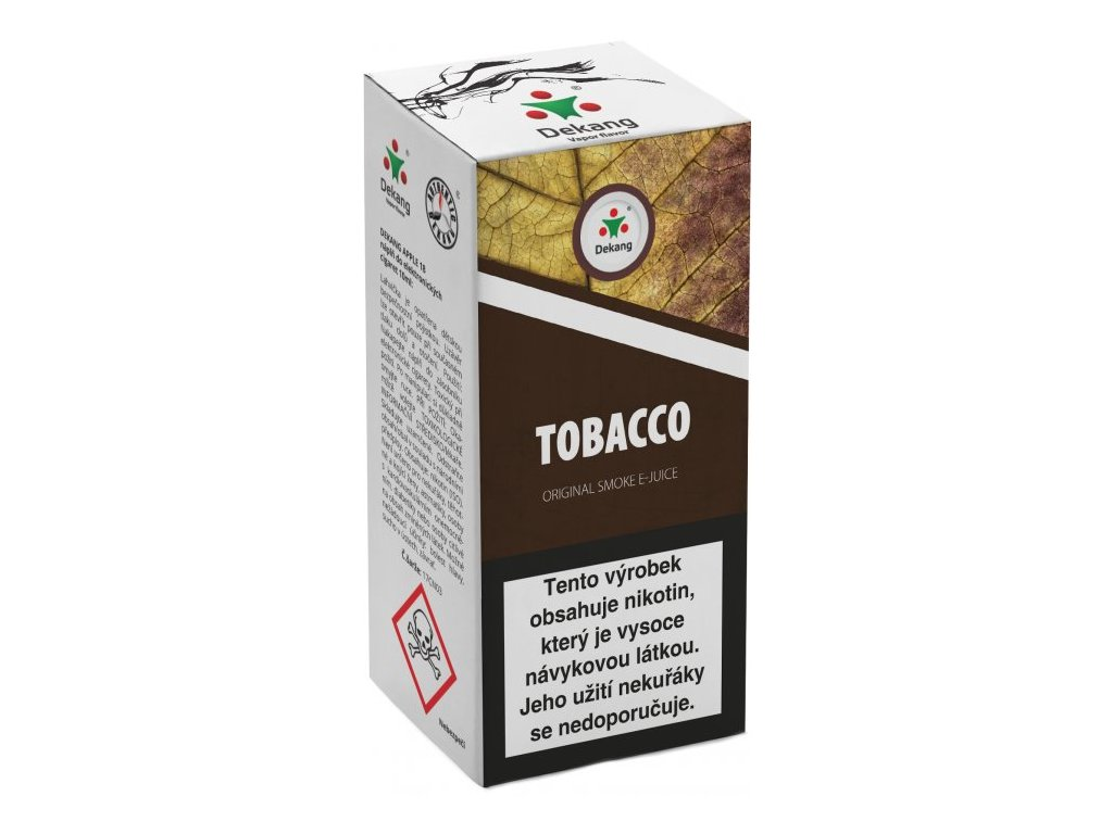 e-liquid Dekang TOBACCO (Tabák), 10ml - 6mg nikotinu/ml
