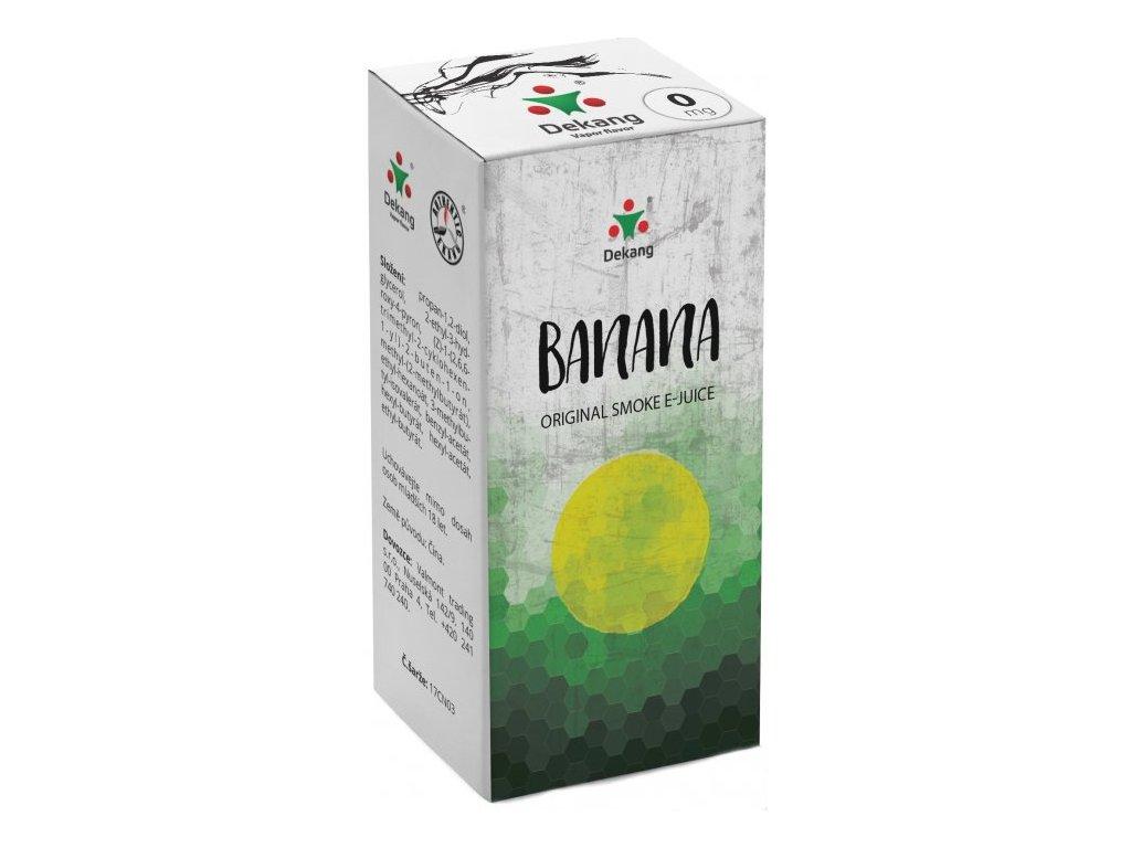 e-liquid Dekang Banana (Banán), 10ml - 0mg nikotinu/ml