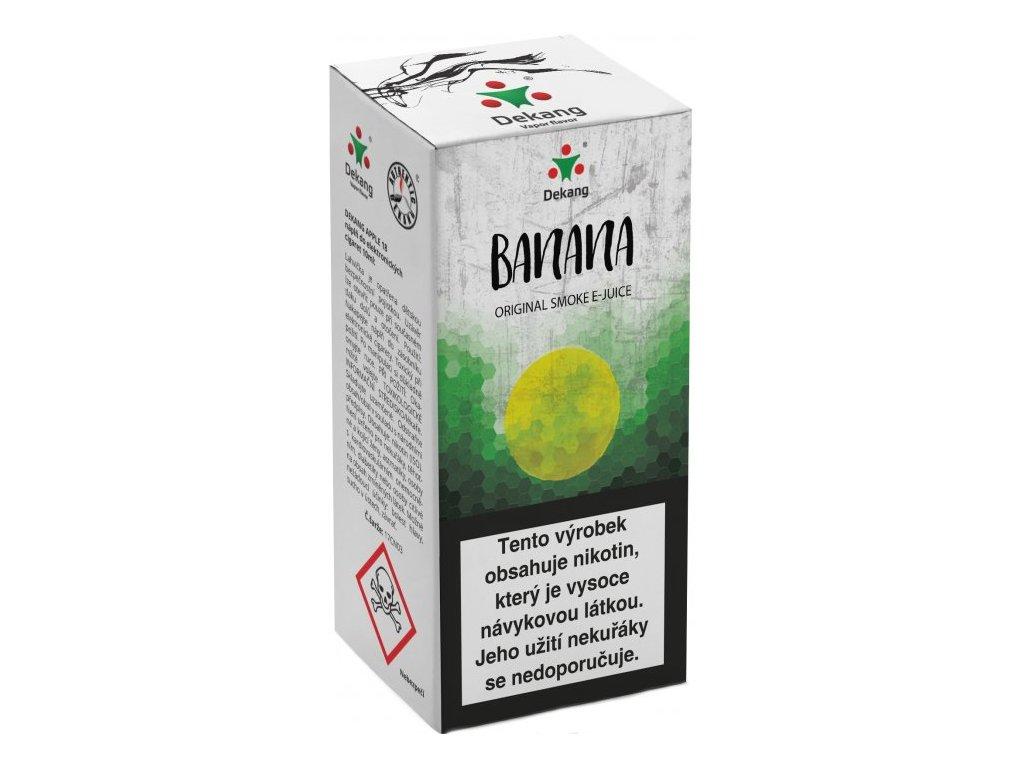 e-liquid Dekang Banana (Banán), 10ml - 6mg nikotinu/ml