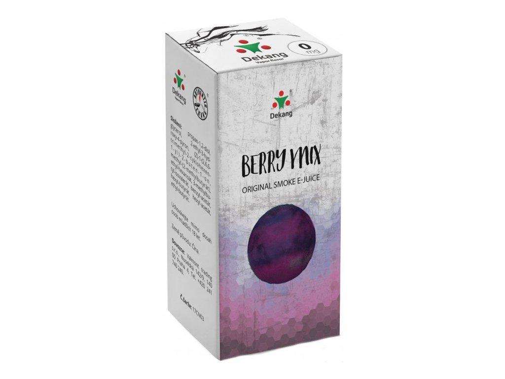 e-liquid Dekang Berry Mix (Lesní Plody), 10ml - 0mg nikotinu/ml