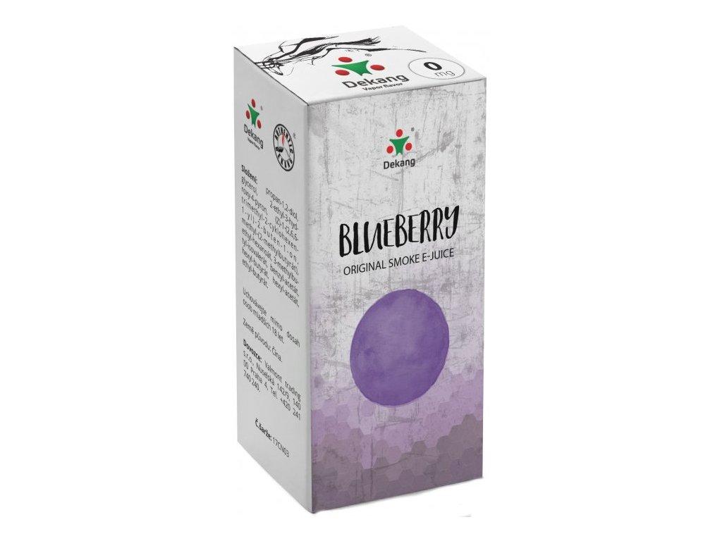 e-liquid Dekang Blueberry (Borůvka), 10ml - 0mg nikotinu/ml
