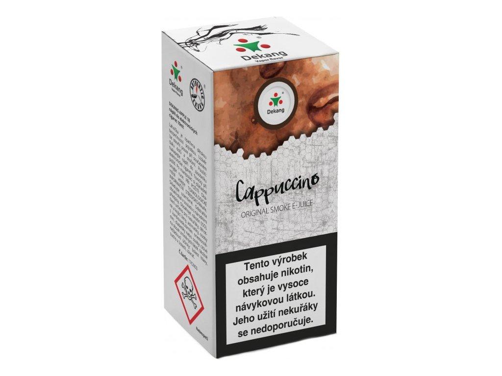 e-liquid Dekang Cappuccino (Kapučíno), 10ml - 6mg nikotinu/ml
