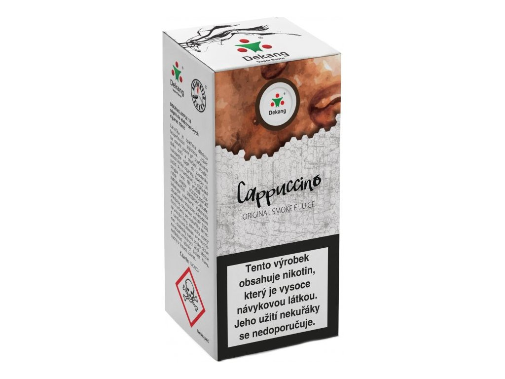 e-liquid Dekang Cappuccino (Kapučíno), 10ml - 18mg nikotinu/ml