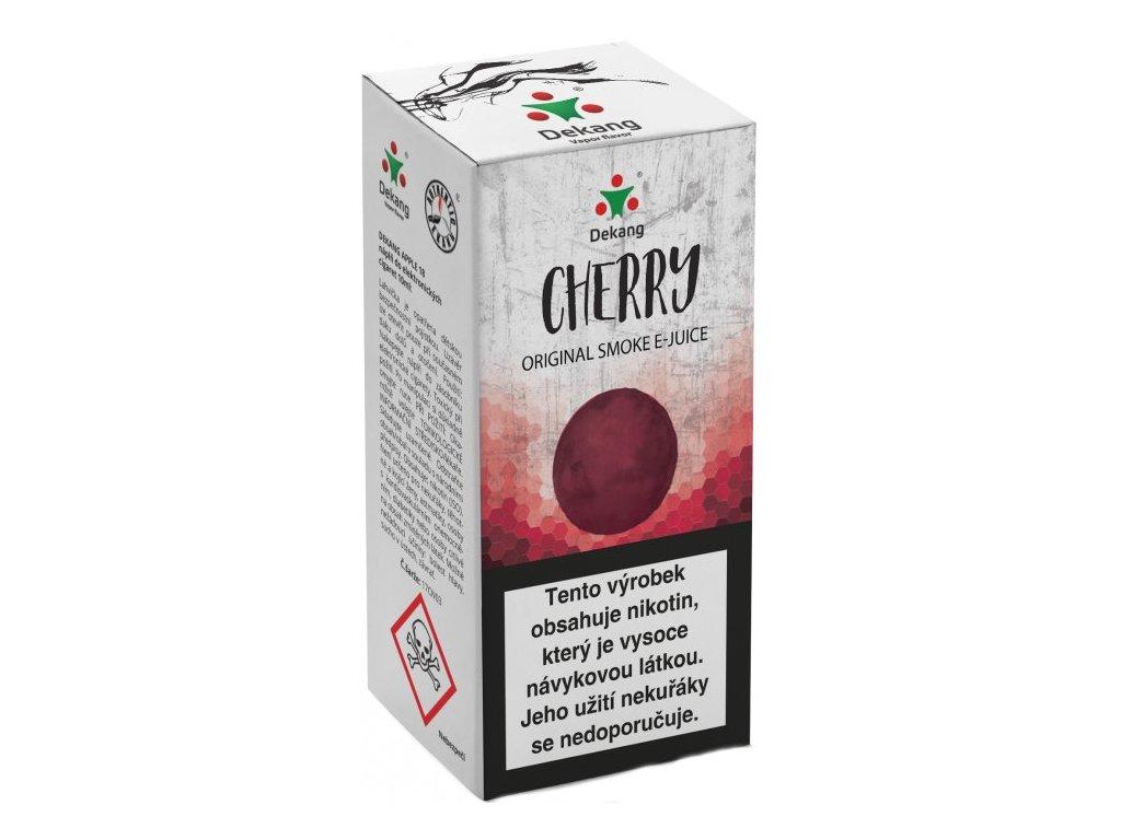 e-liquid Dekang Cherry (Třešeň), 10ml - 18mg nikotinu/ml