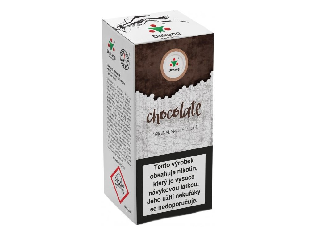 e-liquid Dekang Chocolate (Čokoláda), 10ml - 6mg nikotinu/ml