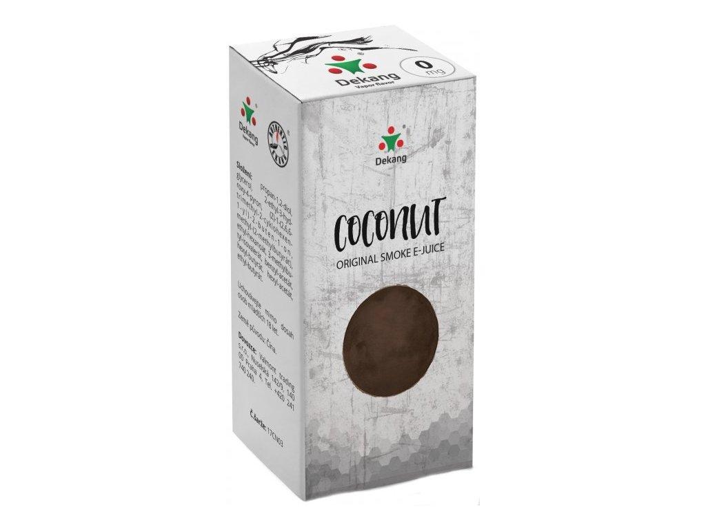e-liquid Dekang Coconut (Kokos), 10ml - 0mg nikotinu/ml