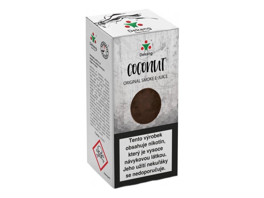 e-liquid Dekang Coconut (Kokos) 10ml
