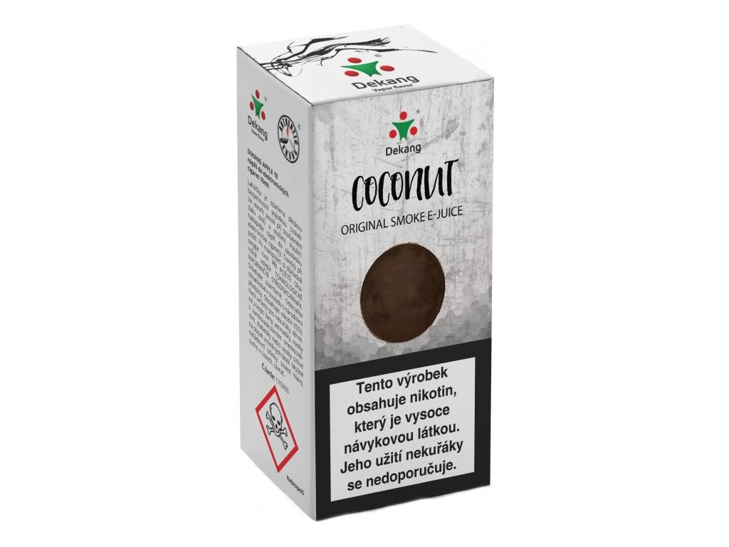 e-liquid Dekang Coconut (Kokos), 10ml - 18mg nikotinu/ml