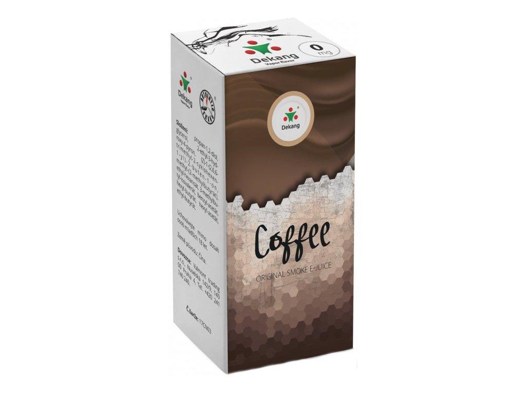 e-liquid Dekang Coffee (Káva), 10ml - 0mg nikotinu/ml
