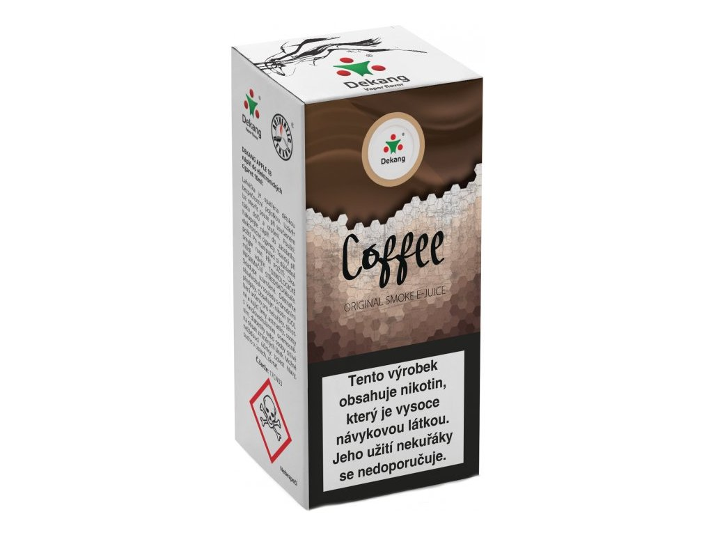 e-liquid Dekang Coffee (Káva), 10ml - 6mg nikotinu/ml