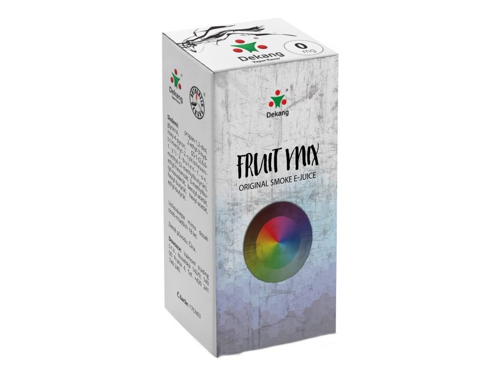 e-liquid Dekang Fruit Mix (Ovocný Mix), 10ml - 0mg nikotinu/ml
