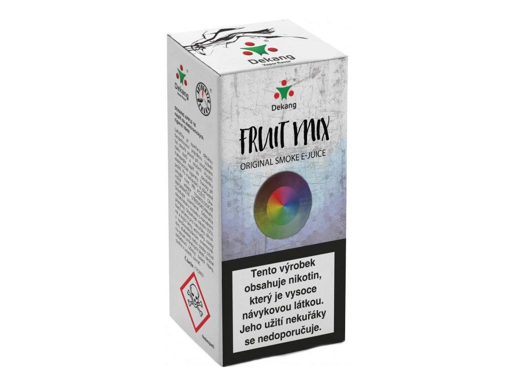 e-liquid Dekang Fruit Mix (Ovocný Mix), 10ml - 16mg nikotinu/ml